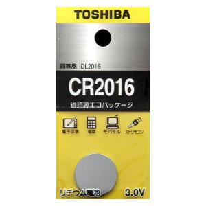 CR-2016EC 東芝 リチウムコイン電池×1個 CR2016 国内送料無料 CR2016EC 一部予約 TOSHIBA