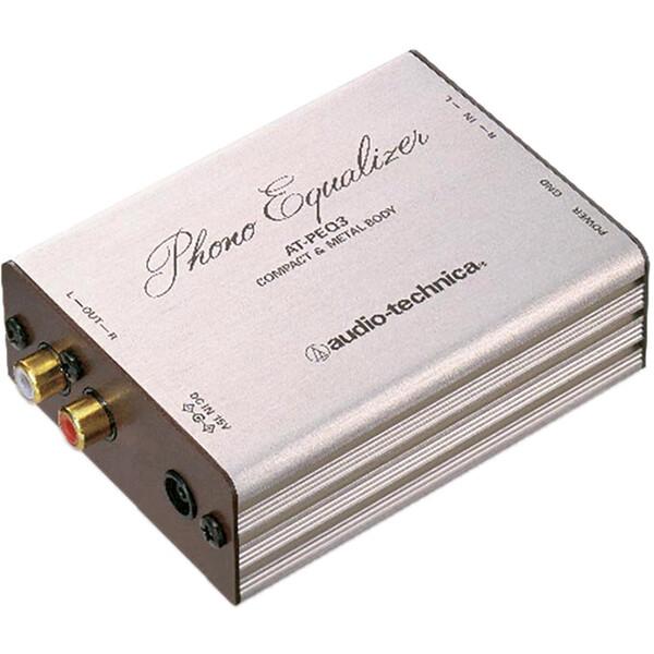 AT-PEQ3 オーディオテクニカ フォノイコライザー audio-technica