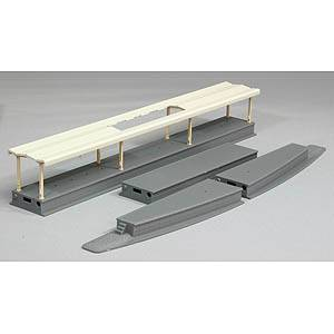 鉄道模型 トミックス 再生産 Nゲージ 近代型 オーバーのアイテム取扱☆ 4009 まとめ買い特価 島式ホームセット