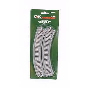 鉄道模型 カトー Nゲージ 出色 現品 20-505 ユニトラック 単線高架曲線線路R249-45゜2本入り