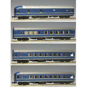 即納最大半額 鉄道模型 カトー 再生産 商品 HO 4両基本セット 20系特急形寝台客車 3-504