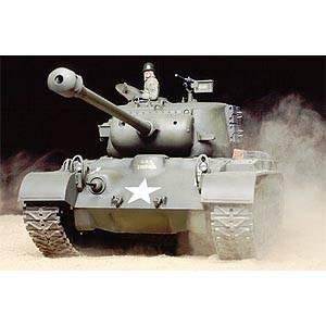 1/16電動RC アメリカ戦車 M26 パーシング フルオペレーションセット 2.4GHzプロポ仕様【56015】 タミヤ