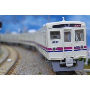 [鉄道模型]グリーンマックス 【再生産】(Nゲージ) 1014T 京王6000系 新塗装 4両編成トータルセット(塗装済キット)