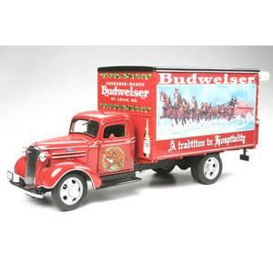 1/24 ダイキャストカー バドワイザー・クリスマス・トラック(1930年代) D2013 ダンバリー・ミント