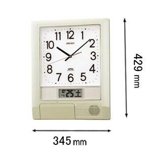 PT-201-S セイコークロック 電波掛け時計 [PT201S]【返品種別A】