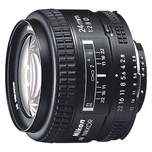 AF24/2.8D ニコン Ai AF Nikkor 24mm f/2.8D ※FXフォーマット用レンズ(36mm×24mm)