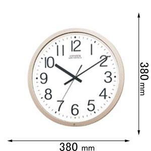 4MY603-B19 シチズン 電波掛け時計 パルウェーブM603B-19 [4MY603B19]【返品種別A】