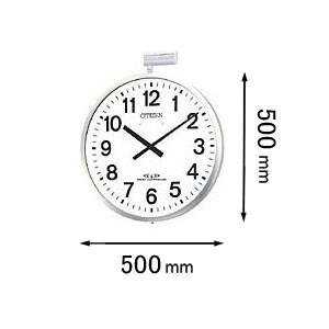 4MY611-B19 シチズン 電波掛け時計 パルウェーブM611B-19 [4MY611B19]【返品種別A】