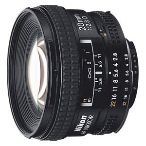 AF20F2.8D ニコン Ai AF Nikkor 20mm f/2.8D ※FXフォーマット用レンズ(36mm×24mm)