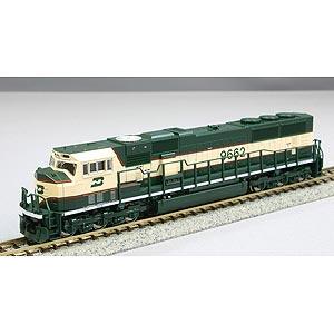 [鉄道模型]カトー (Nゲージ) 176-6506 SD70MAC形電気式ディーゼル機関車 バーリントン・ノーザン鉄道 #9662
