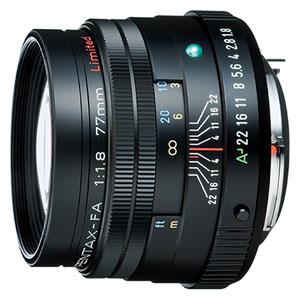 FA77/1.8 リミテツド-BK ペンタックス smc PENTAX-FA 77mmF1.8 Limited(ブラック)