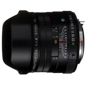 FA31F1.8AL-B ペンタックス FA 31mm F1.8 AL Limited ブラック (ケース、フード付)