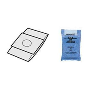 EC-16PN シャープ クリーナー用 純正紙パック 抗菌3層紙袋【5枚入】 SHARP ヨコ型タイプ掃除機用 [EC16PN]