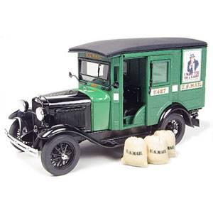 1/24 ダイキャストカー 1931年U.Sメールトラック D0001 ダンバリー・ミント