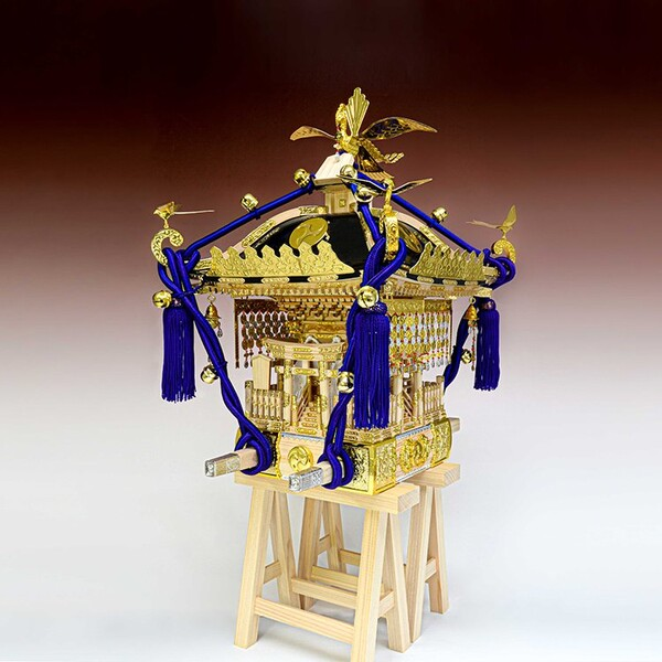 1/5 木製模型 江戸神輿 ウッディジョー