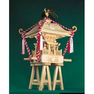 【最大1000円OFF?当店限定クーポン 8/10 23:59迄】1/5 木製模型 町神輿 ウッディジョー