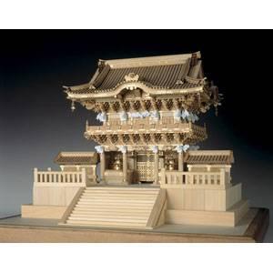 1/50 木製模型 日光東照宮 陽明門(レーザーカット加工) ウッディジョー