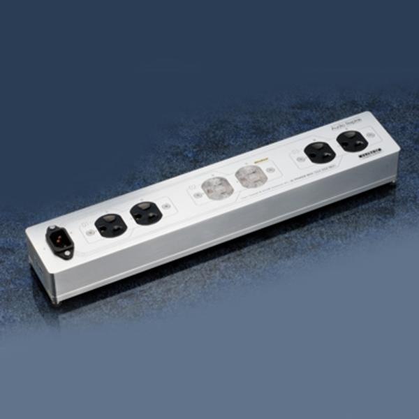 SAA6SZ-MK2/R オーディオリプラス 6連電源タップ【ロジウムコンセント1基+BRYANTコンセント2基】 Audio Replas