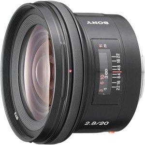 SAL20F28 ソニー 20mm F2.8 ※Aマウント用レンズ(フルサイズ対応)