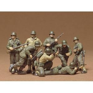1/35 ミリタリーミニチュアシリーズ アメリカ歩兵 G・Iセット【35048】  タミヤ