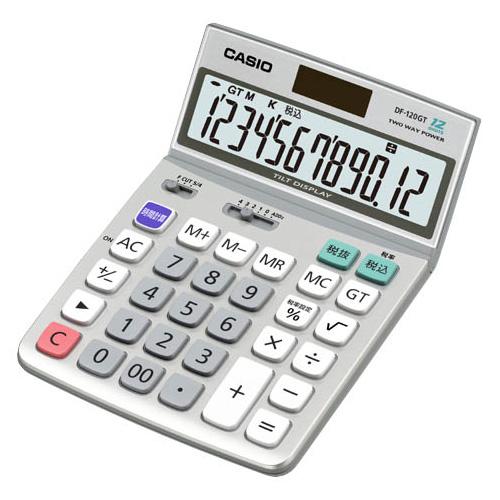 DF-120GT-N カシオ 卓上電卓 12桁