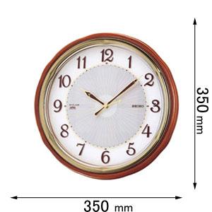 SF221B セイコークロック ソーラー電波掛け時計 [SF221Bセイコ]【返品種別A】