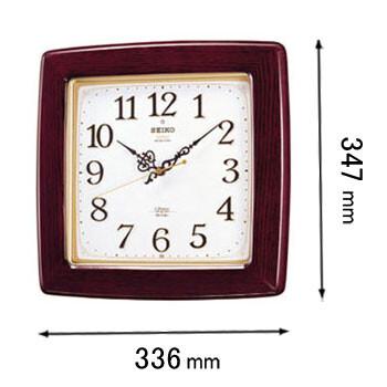 【エントリーでP5倍 8/9 1:59迄】RX211B セイコークロック 電波掛け時計 [RX211B]【返品種別A】