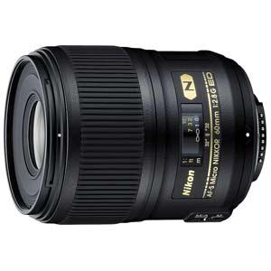 AF-SMICRO60/F2.8G ED ニコン AF-S Micro NIKKOR 60mm f/2.8G ED ※FXフォーマット用レンズ(36mm×24mm)