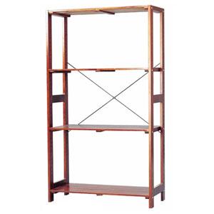 WOR-8315(ブラウン) アイリスオーヤマ ウッディラック(ブラウン)幅83.5×高さ147cm IRIS