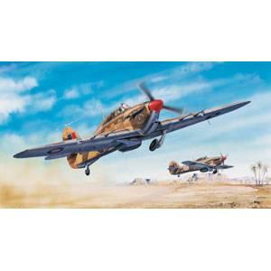 1/24イギリス軍 ホーカーハリケーン Mk. C/TROP【02416】 トランペッター [TR02416ハリケーンMk2]【返品種別B】