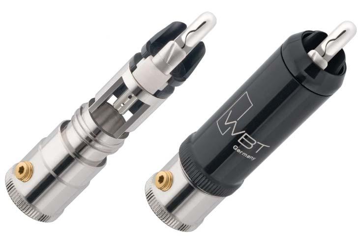 WBT-0152 AG WBT RCAコアキシャルプラグ(4個入) WBT