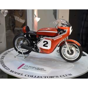 1/6 Honda CB750 レーシング(セミアッセンブル)【23210】 タミヤ