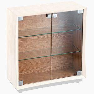 CD-D/GL クアドラスパイア CDキューブ用クリアガラス(ペア) Quadraspire