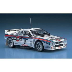 再生産 1 24 ランチア 完全送料無料 037 ラリー CR30 プラモデル セール品 ツールドコルスラリーウイナー ハセガワ 1984