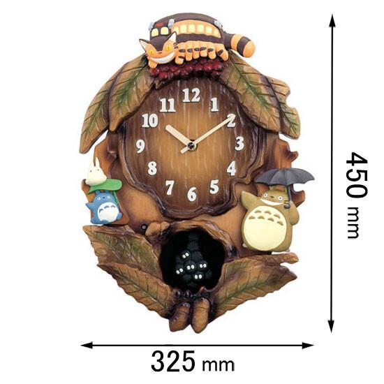 トトロM837N リズム時計 アミューズ時計 【となりのトトロ】 4MJ837MN06 [トトロM837N]【返品種別A】