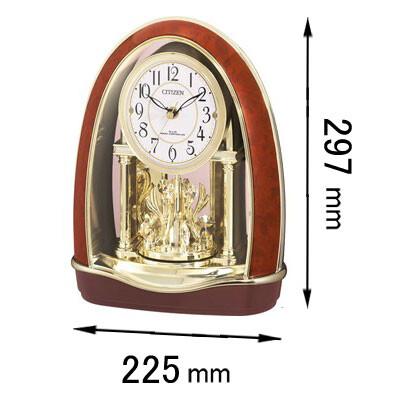 4RN414-023 シチズン 置き時計 パルドリームR414-23 [4RN414023]【返品種別A】