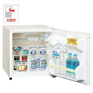 NR-A50W-W パナソニック 45L 1ドア冷蔵庫(直冷式)オフホワイト【右開き】 Panasonic