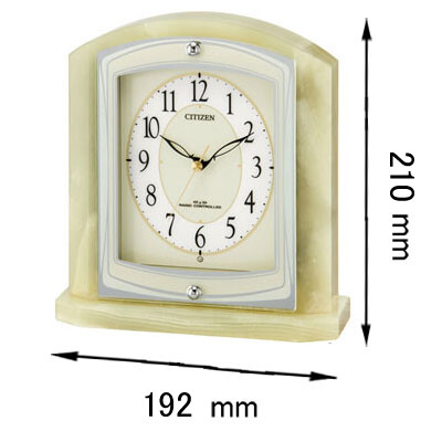 8RY400-005 シチズン 置き時計 パルラフィーネR400-05 [8RY400005]【返品種別A】