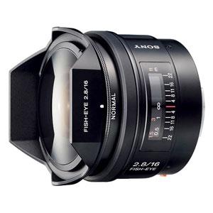 SAL16F28 ソニー 16mm F2.8 Fisheye ※Aマウント用レンズ(フルサイズ対応)