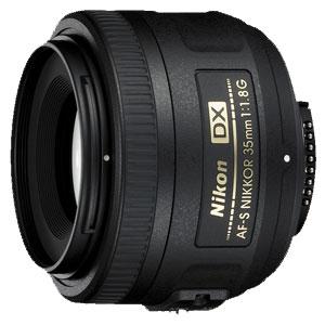 AF-S_DX35MM/F1.8G ニコン AF-S DX NIKKOR 35mm f/1.8G ※DXフォーマット用レンズ(24mm×16mm)