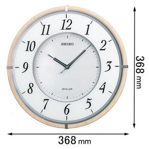 SF501B セイコークロック ソーラー電波掛け時計 [SF501B]【返品種別A】