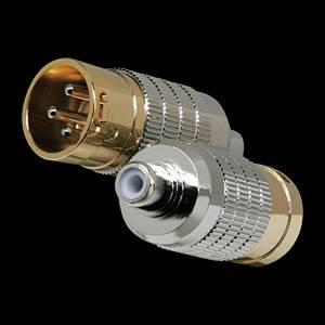 CGA-RCA/XLR-M2 カルダス RCA/XLR変換アダプターMタイプ(2番HOT)2個入 CARDAS