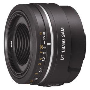 SAL50F18 ソニー DT 50mm F1.8 SAM ※Aマウント用レンズ(APS-Cサイズ用)