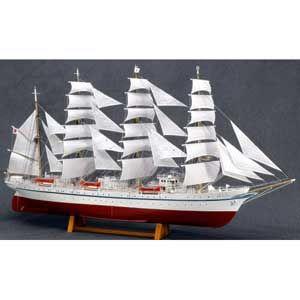 1/160 木製帆船模型 新日本丸(帆付) ウッディジョー