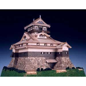 1/150 木製模型 犬山城 ウッディジョー