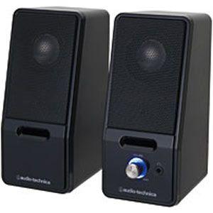 Audio-Technica at-SP121-BK active speaker black [ATSP121BK]