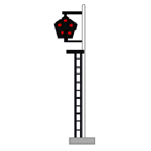 [鉄道模型]津川洋行 (N) LA-15 特殊信号発光機 2本入