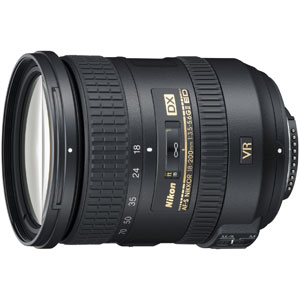 AFSDX18-200GVR-2 ニコン AF-S DX NIKKOR 18-200mm f/3.5-5.6G ED VR II ※DXフォーマット用レンズ(24mm×16mm)