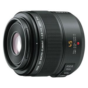 H-ES045 パナソニック LEICA DG MACRO-ELMARIT 45mm F2.8 ASPH. MEGA O.I.S. ※マイクロフォーサーズ用レンズ