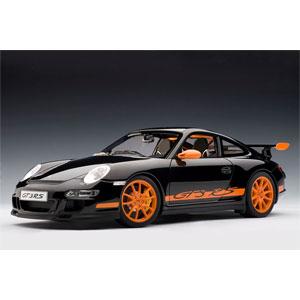 1/12 ポルシェ 911 997 GT3 RS ブラック/オレンジストライプ【12116】 オートアート